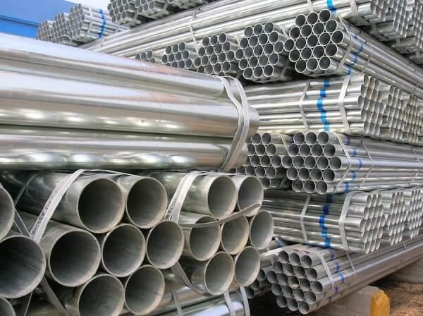 Thép ống mạ kẽm trần hùng metal quy cách