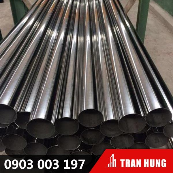 ong tron inox 304 tran hung metal