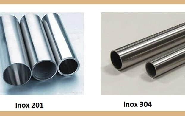 Sự Khác Nhau Giữa Inox 201 và 304 Inox 304 là gì? Inox 304 có mấy loại? Báo giá chi tiết